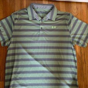 Under Armor Polo Shirt Men's Size XXL